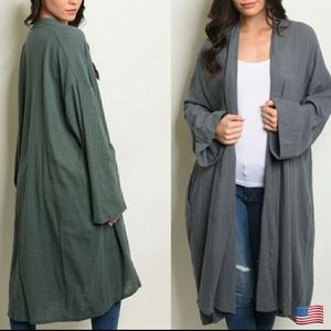 💥bogo1/2price💥oversized duster cardiga